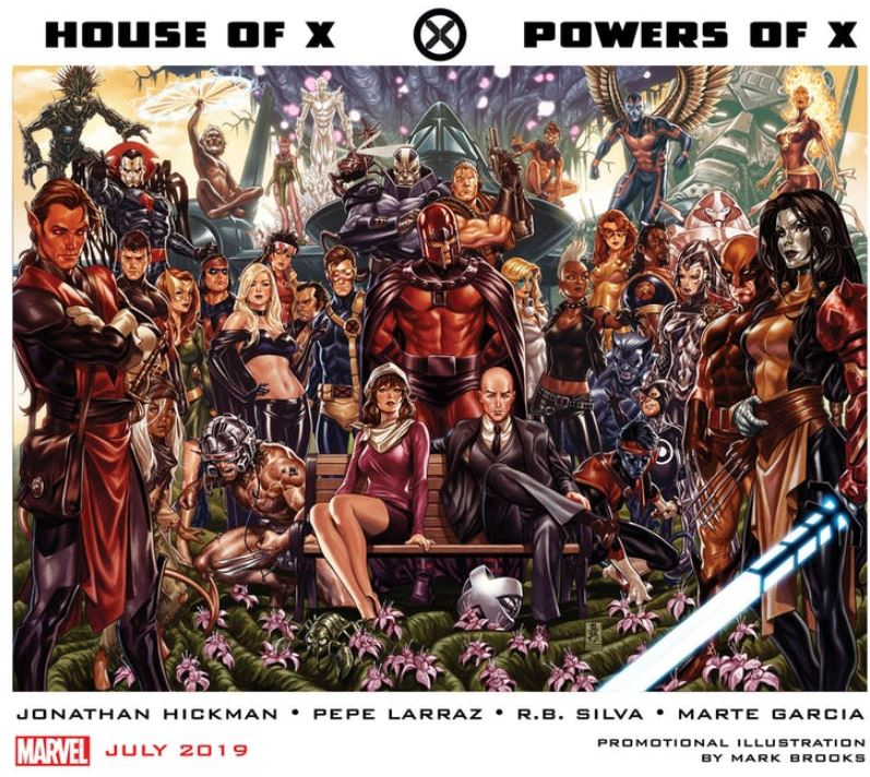 House of X and Powers of X promo