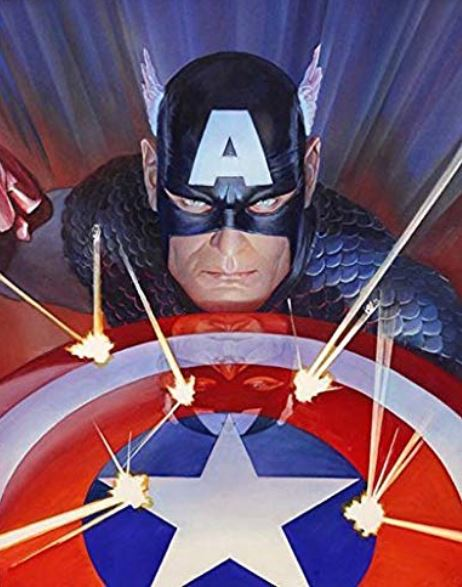Captain America -by Alex Ross