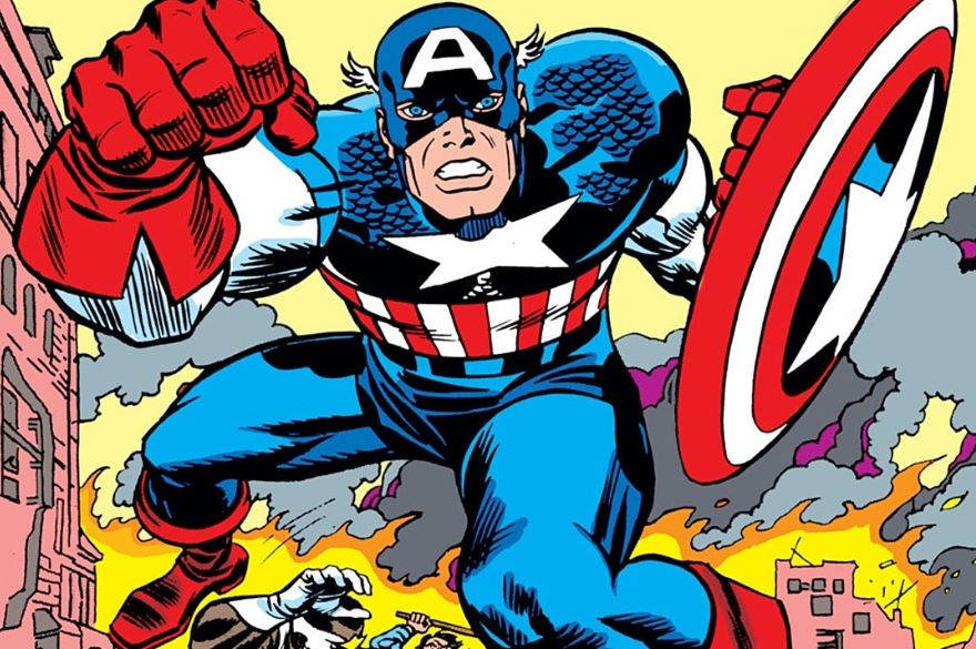 About That Image of Captain America Punching Hitler