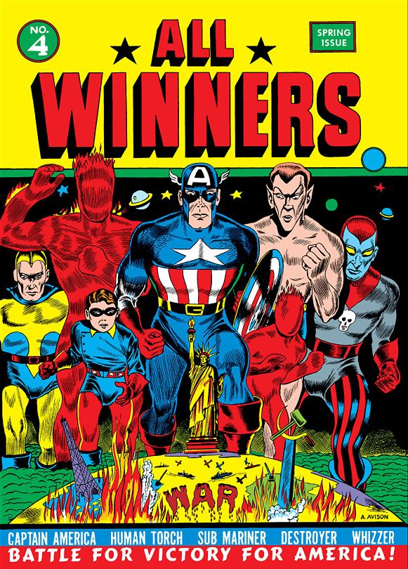 All-Winners #4 with Captain America