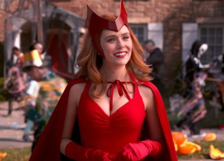 Wanda Maximoff-the Scarlet Witch