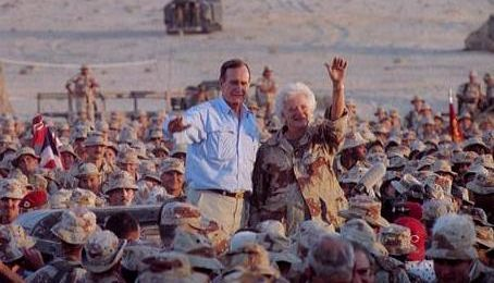 President Bush in Saudi Arabia