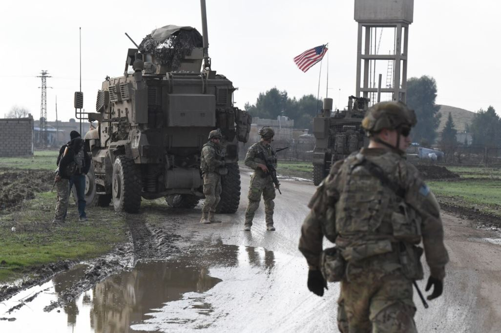American Troops in Eastern Syria January 2020