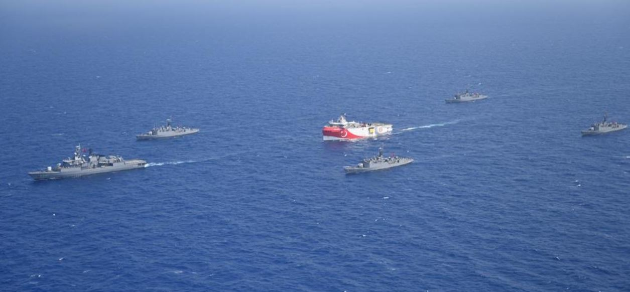 Turkish Navy and Oruc Reis