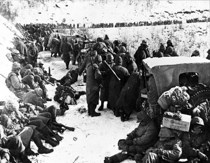 U.S. Marines at Frozen Chosin