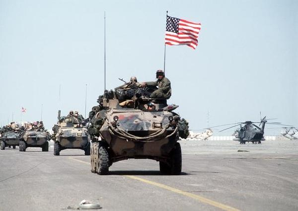 American Troops in the Gulf War