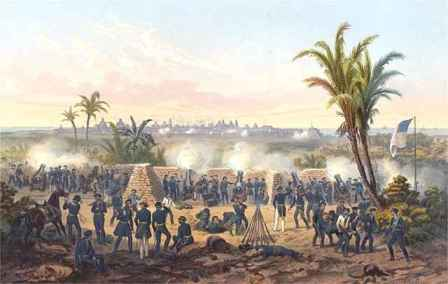 The Mexican-American War:  U.S. Troops at the Siege of Veracruz